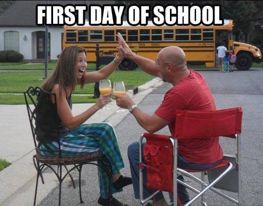 frist day of school